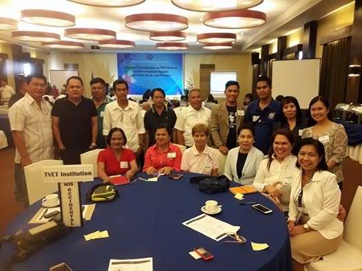 TESDA Mis Occ Team @ Regional Consultation1