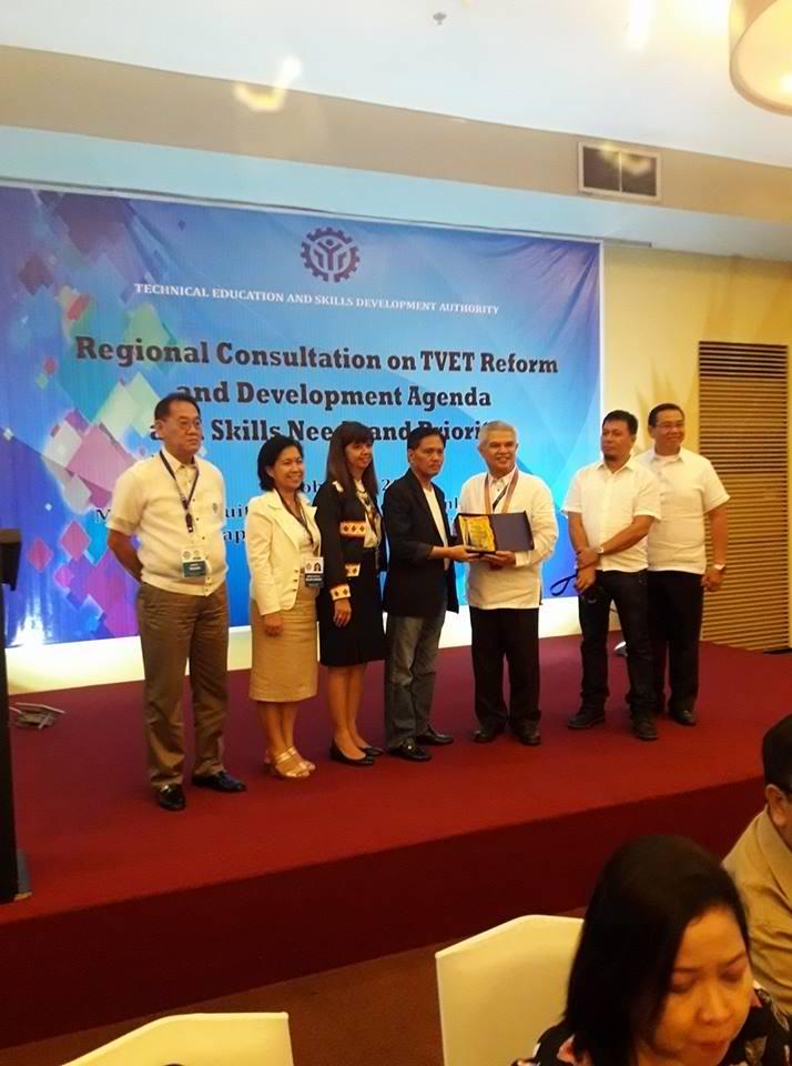 TESDA Mis Occ Team @ Regional Consultation3
