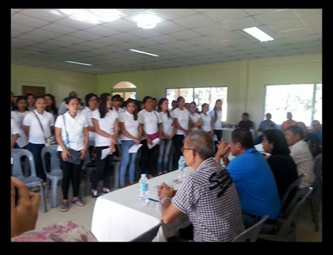 Barangay Kabuhayan Skills Training Program Graduates 74 bakers