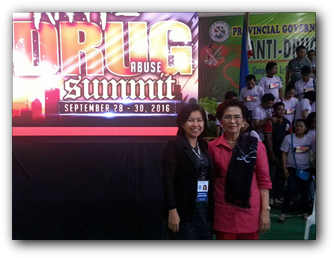 TESDA Misamis Occidental Participate in the 3-Day Anti-Drug Abuse Summit